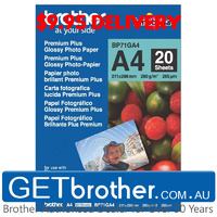 Brother BP-71GA4 Glossy Paper Genuine (BP-71GA4)