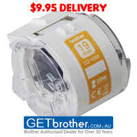 Brother CZ-1003 White Label Roll - 19mm x 5m (CZ-1003)