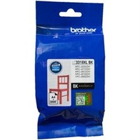 Brother LC-3319XLBK Black Ink Cart Genuine - 3,000 pages (LC-3319XLBK)