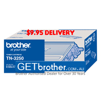 Brother TN-3250 Toner Cartridge Genuine - 3,000 pages  (TN-3250)