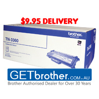 Brother TN-3360 Toner Cartridge Genuine - 12,000 pages (TN-3360)