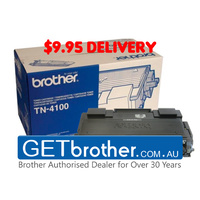 Brother TN-4100 Toner Cartridge Genuine - 7,500 pages (TN-4100)