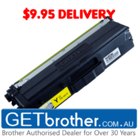 Brother TN-446Y Yellow Toner Cartridge Genuine - 6,500 pages (TN-446Y)