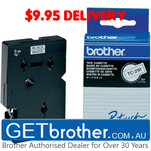 Brother TC-291 Labelling Tape Genuine (TC-291)