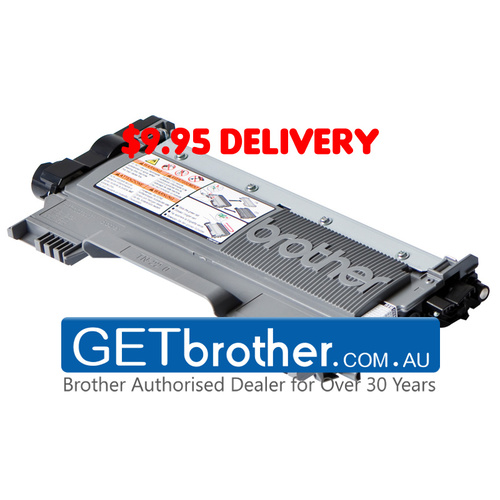 Brother TN-2250 Toner Cartridge Genuine - 2,600 pages  (TN-2250)