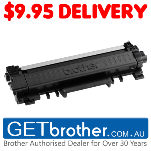 Brother TN-2430 Toner Cartridge Genuine - 1,200 pages  (TN-2430)